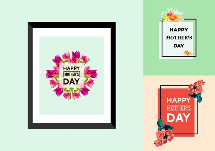 Free Mother's Day Posters vector