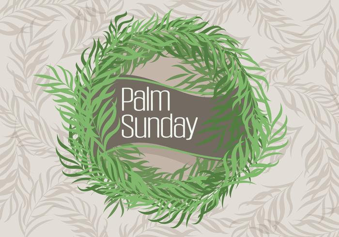 palmsöndagen