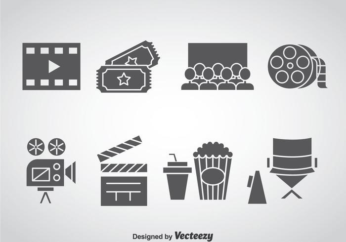 Cinema Element Icons