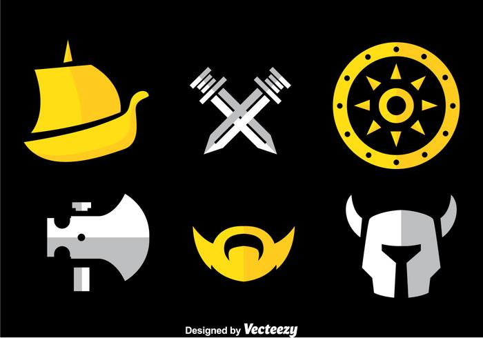 Barbarian Icons Vector