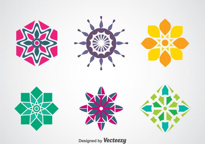 Colorful Logo Template Vectors
