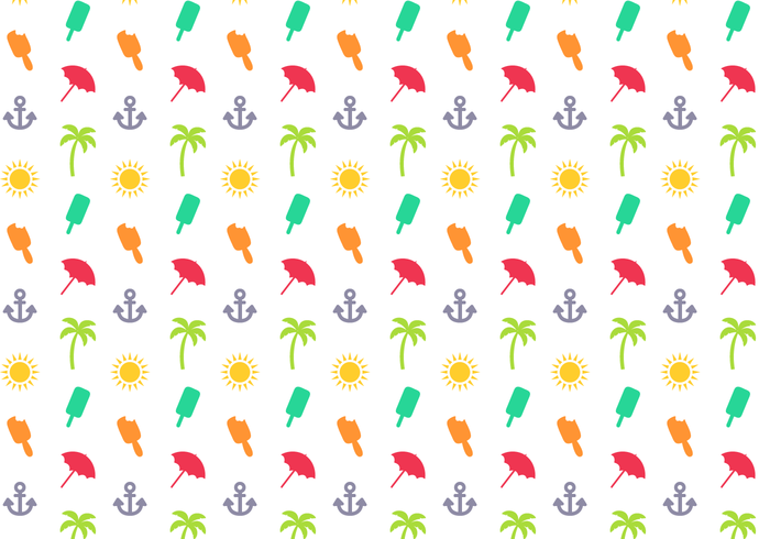 Free Summer Pattern Vector
