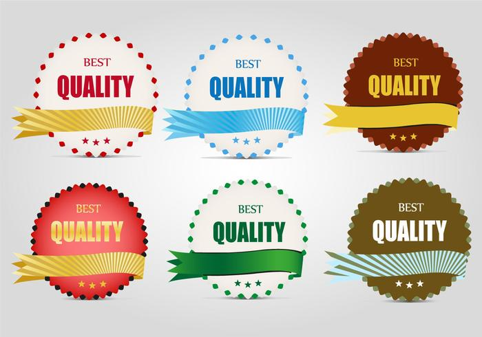 Free Quality Labels Vector