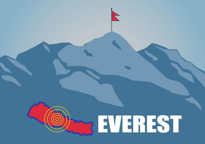 Free Flat Everest Vector