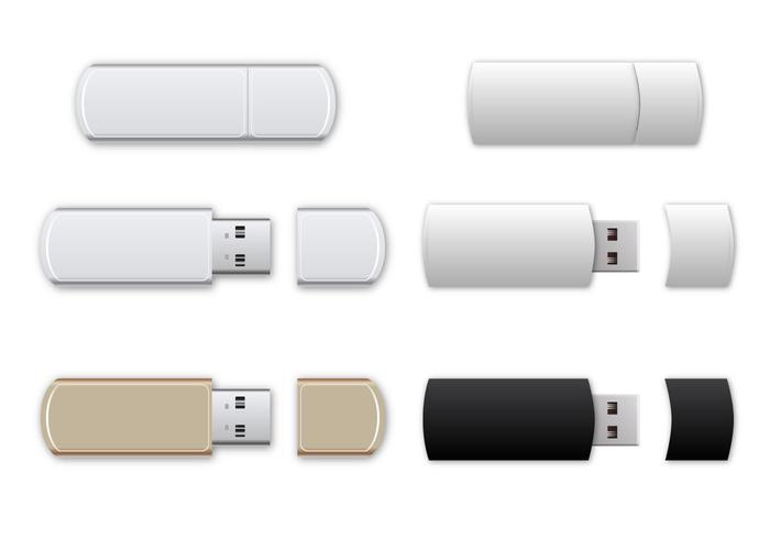 Free USB Flash Drive Vector