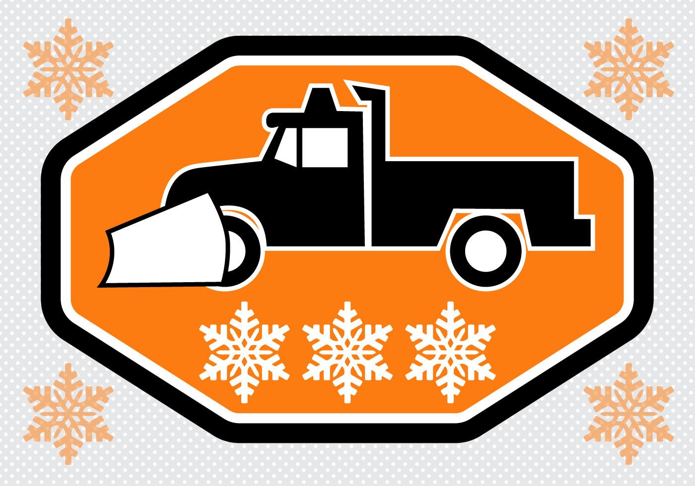 Free Snow Plow Truck Vector Download Free Vector Art