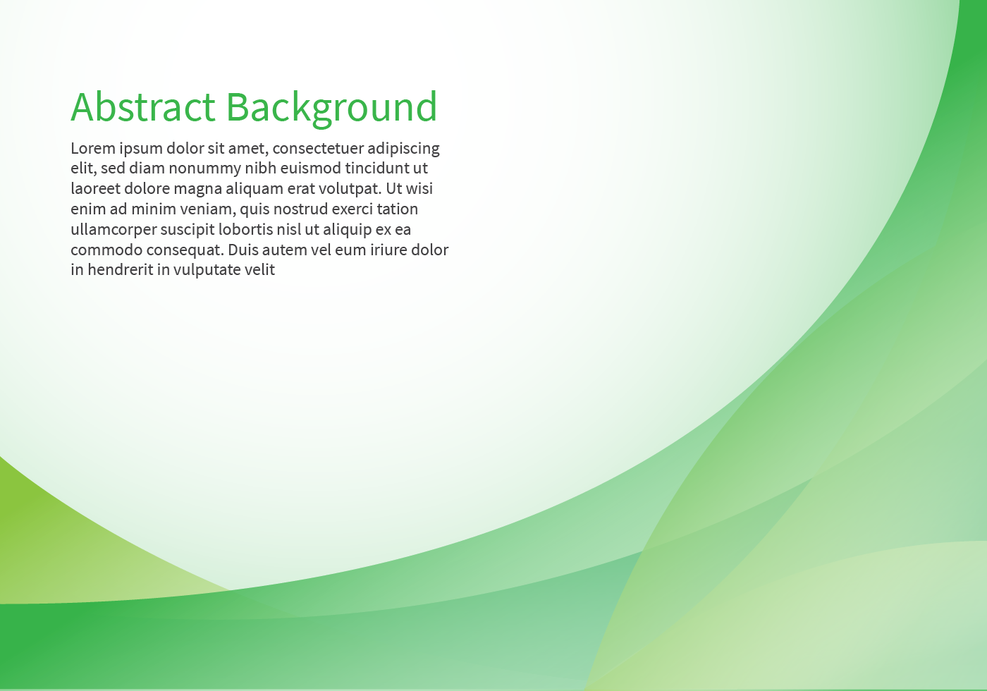 Green Abstract Background Free Vector Art - (74,515 Free