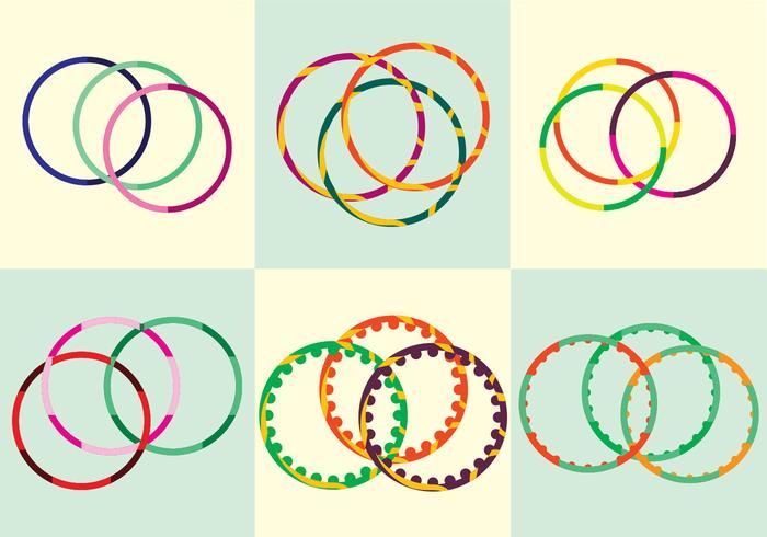 Hula Hoop Vektor
