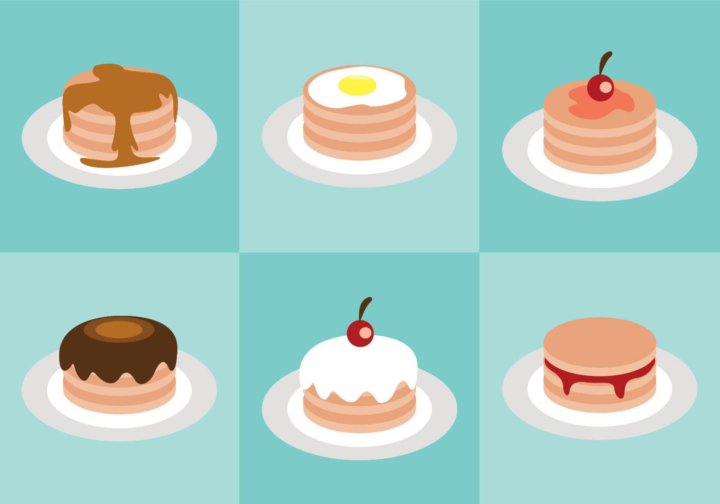 Pancake Vector Download Free Vector Art Stock Graphics
