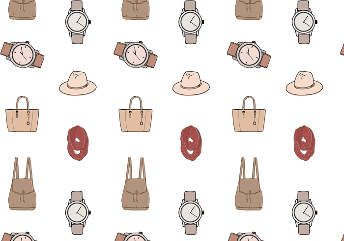 Free Fashion Pattern Vector