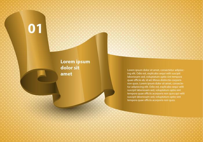 Free Design Ribbon Vector