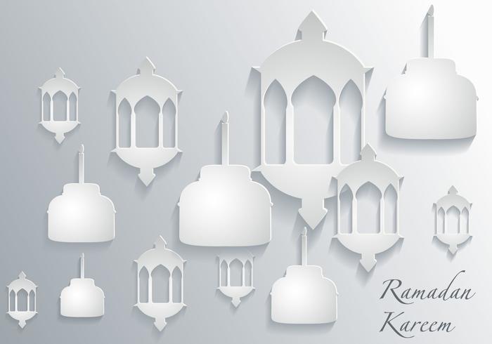 Vettore di carta Pelita 3D gratuito