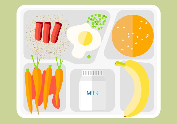 Free Food Tray Icon Vector
