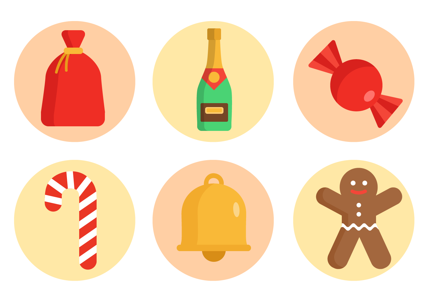 Free Christmas Vector Pack Download Free Vector Art