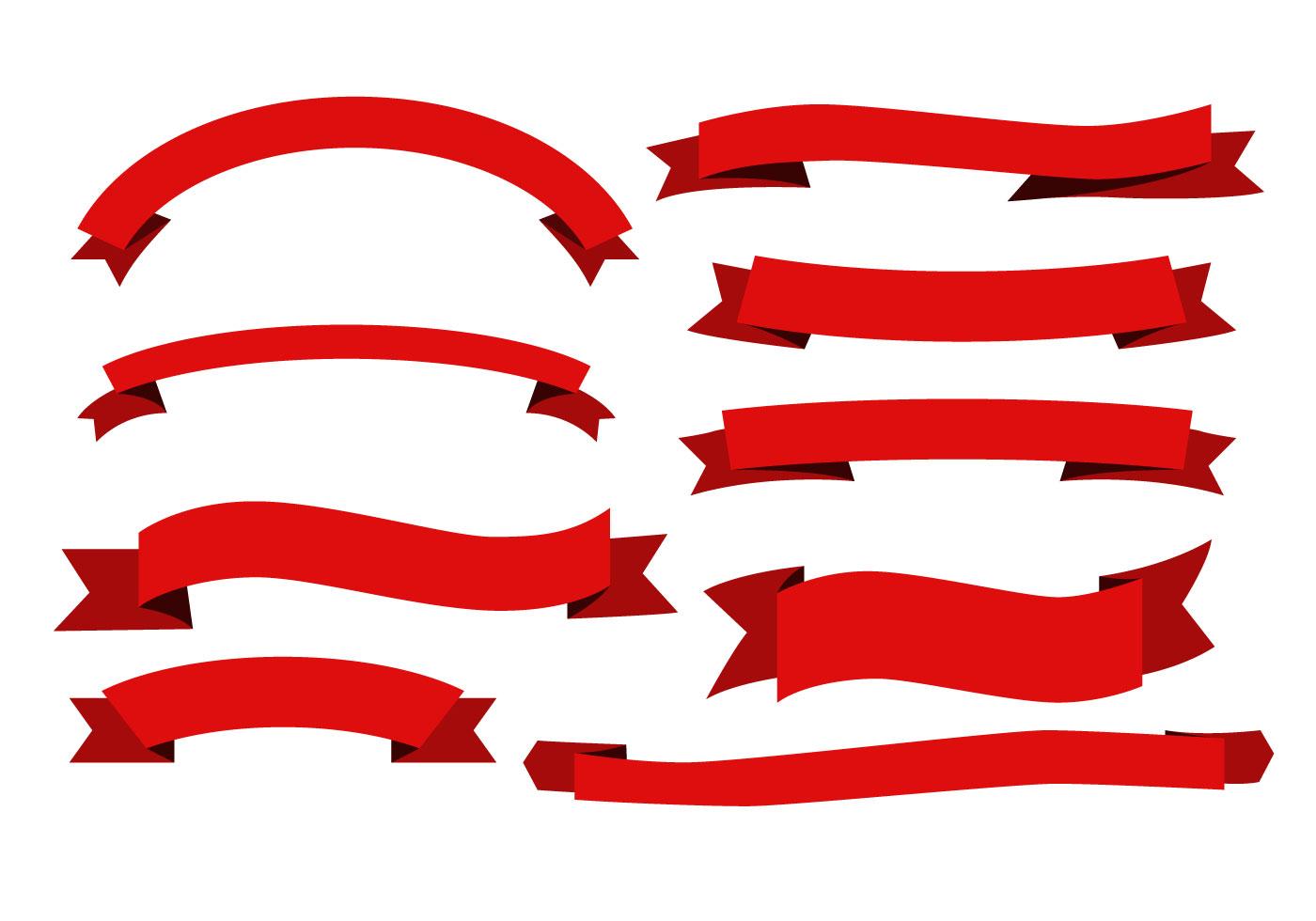 Liston Blanco Vector Png: Free Red Ribbon Sash Vectors