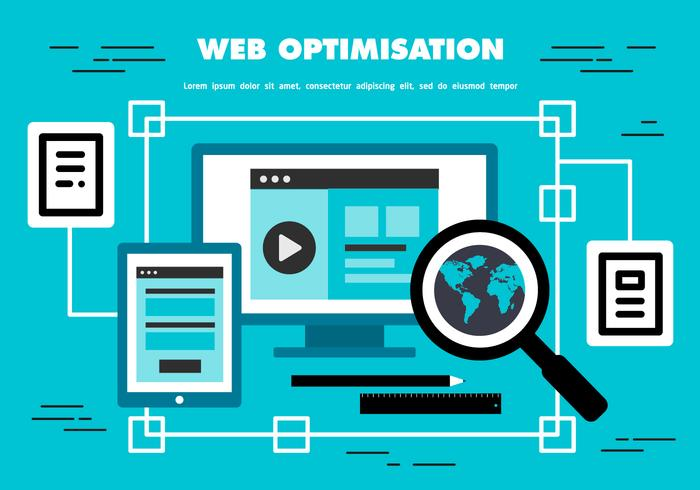 Free Web Optimisation Vector Background