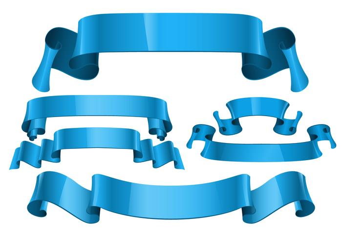 Free Realistic Sash Ribbon Vectors