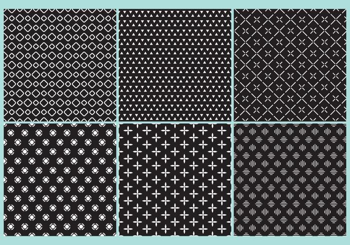Black And White Pattern Vectors