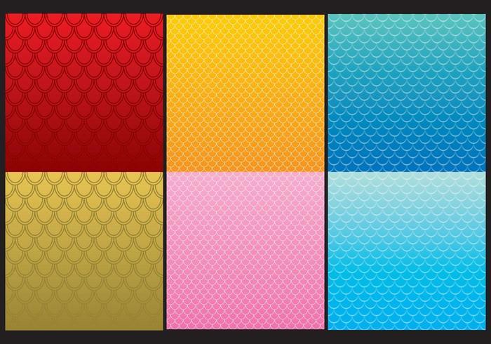 Fisch-Skala-Muster