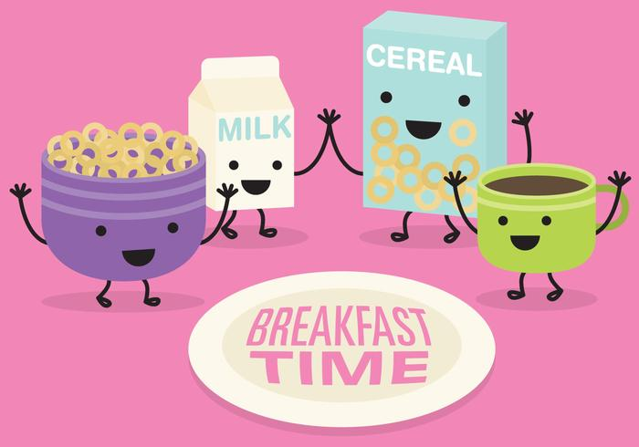 Breakfast Time Vector