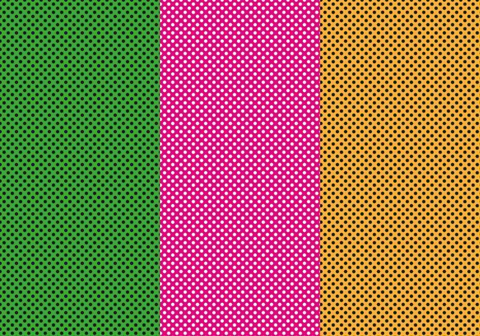 Vector de punto rosa gratis