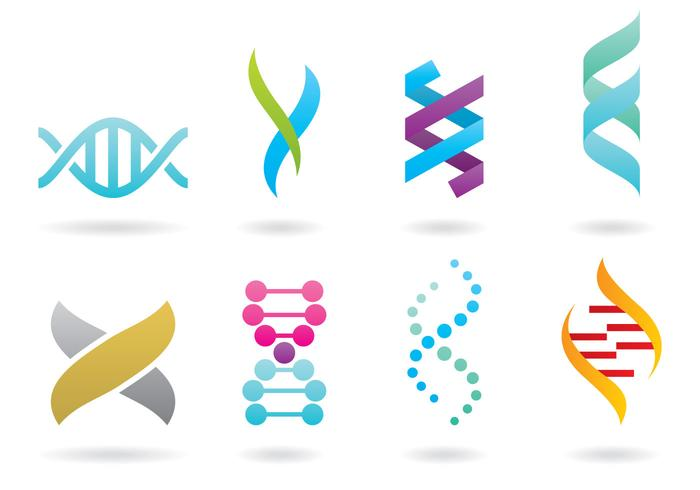 double helix logos download free vector art stock graphics images