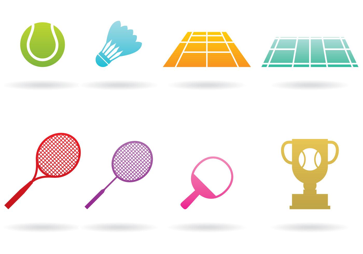 Badminton Logos - Download Free Vectors, Clipart Graphics