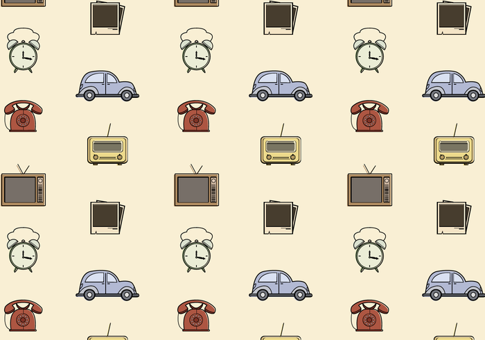 Free Vintage Pattern Vector