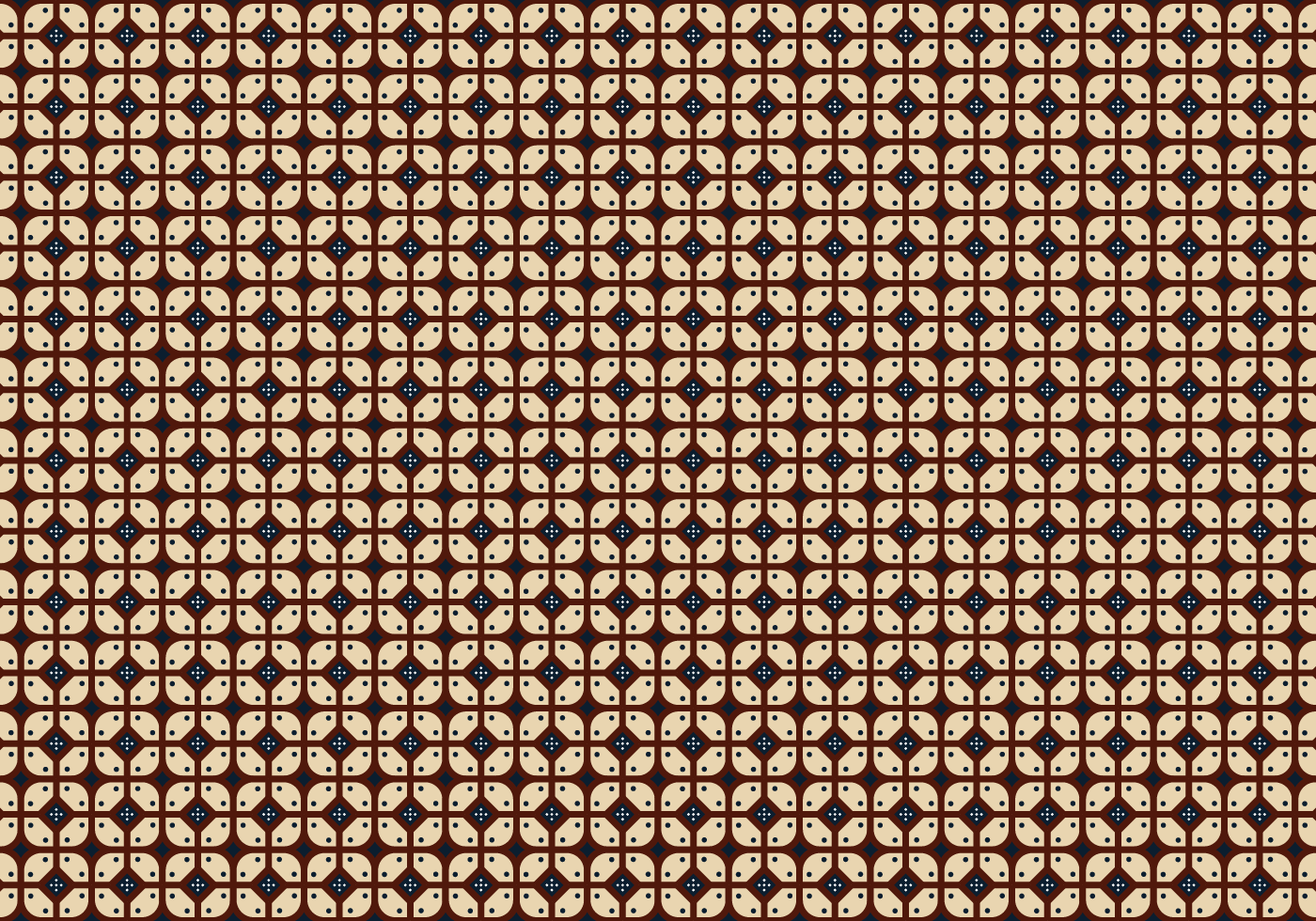 Java Batik Background Vector Download Free Vector Art