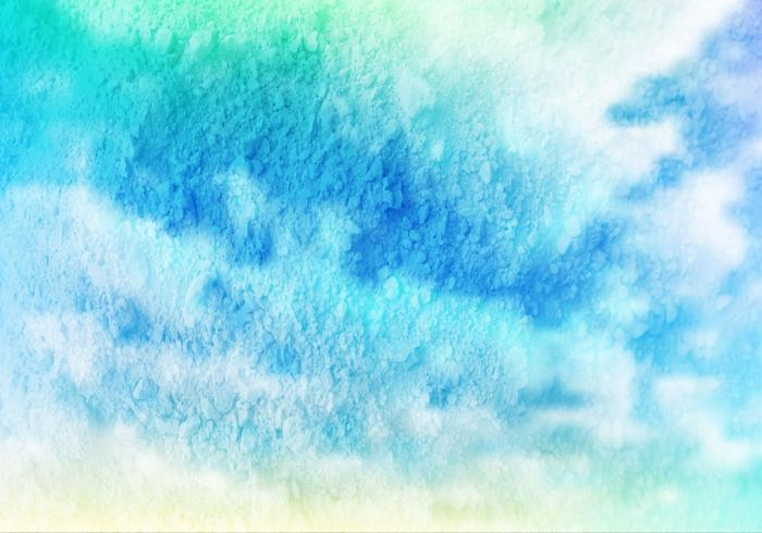 Blue Cloudy Grunge Free Vector Texture