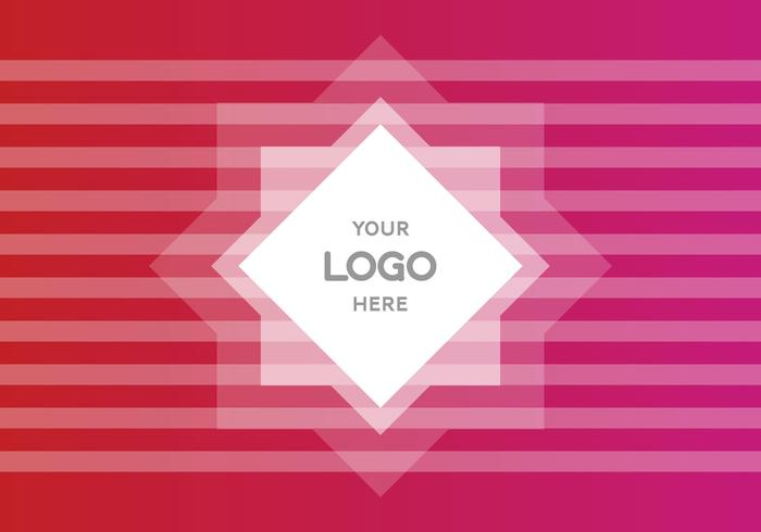 Free Pink Gradient Logo Vector Background