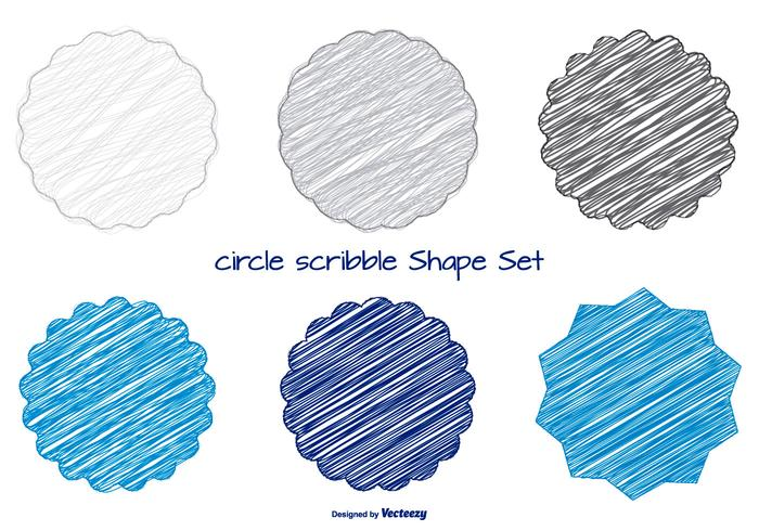 Fun Scribble Shapes Set