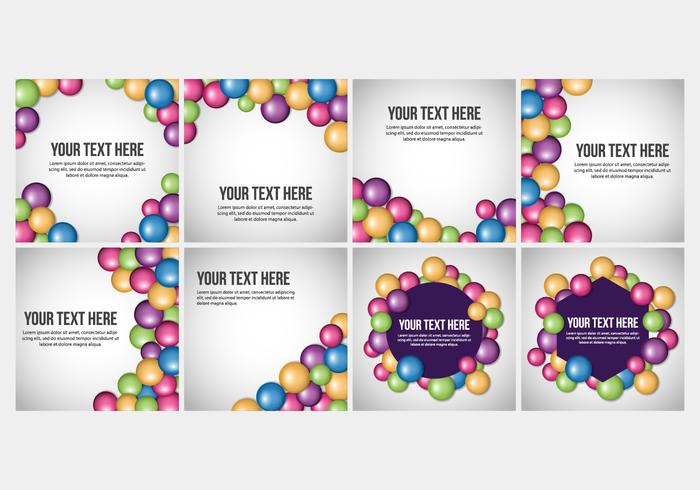 Free Smarties Candy Background Vectors