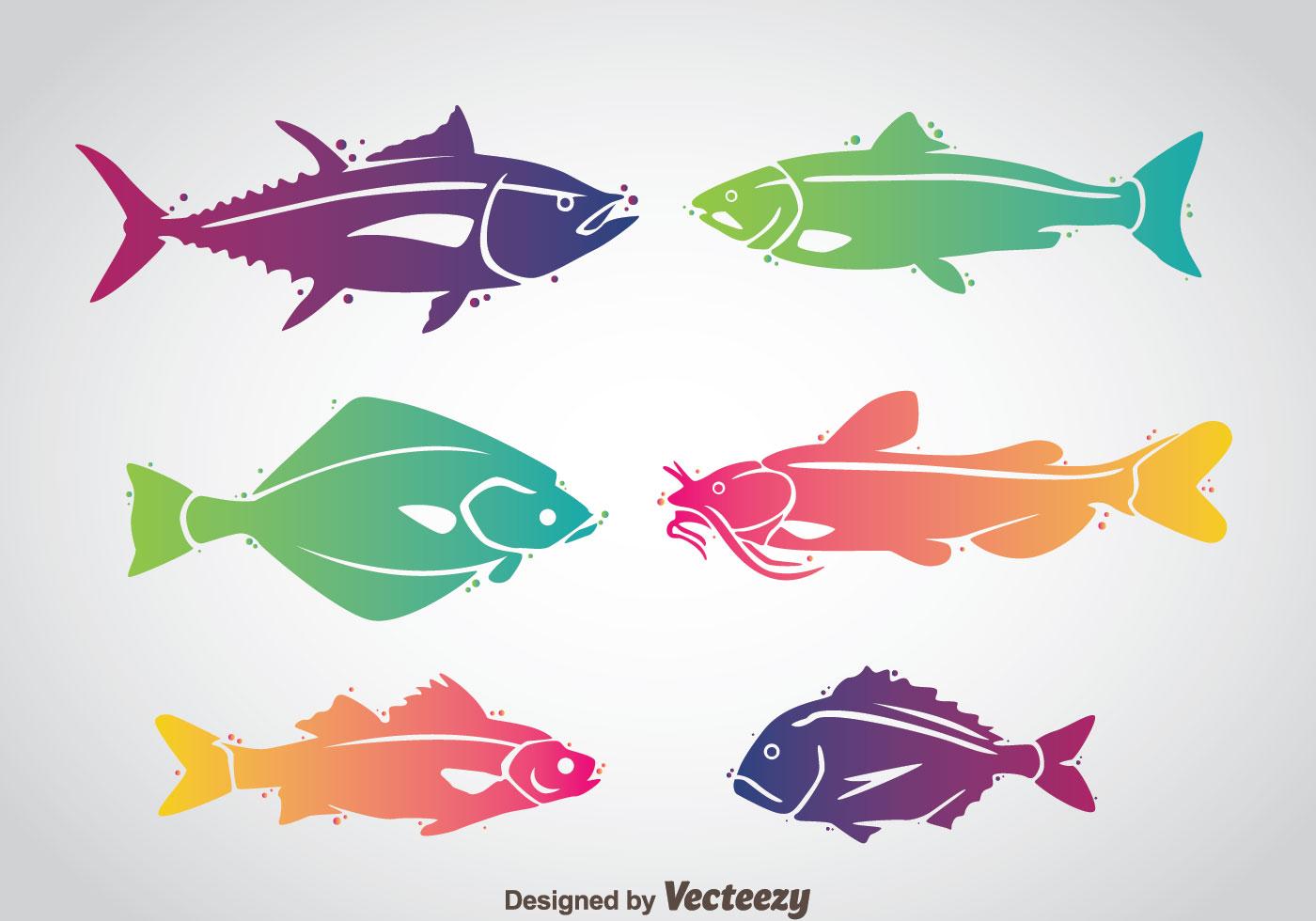 Fish Colorful Vector Download Free Vectors Clipart