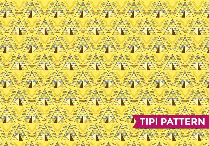 Tipi indisk mönstervektor