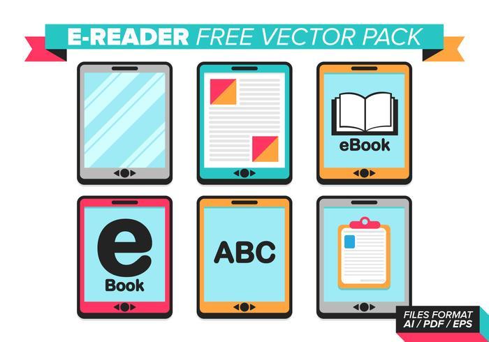 Ereader Free Vector Pack