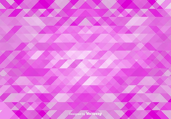Fractal Pink Vector Background