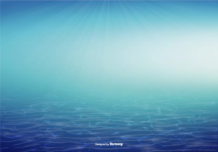 Underwater Vector Background Illustration