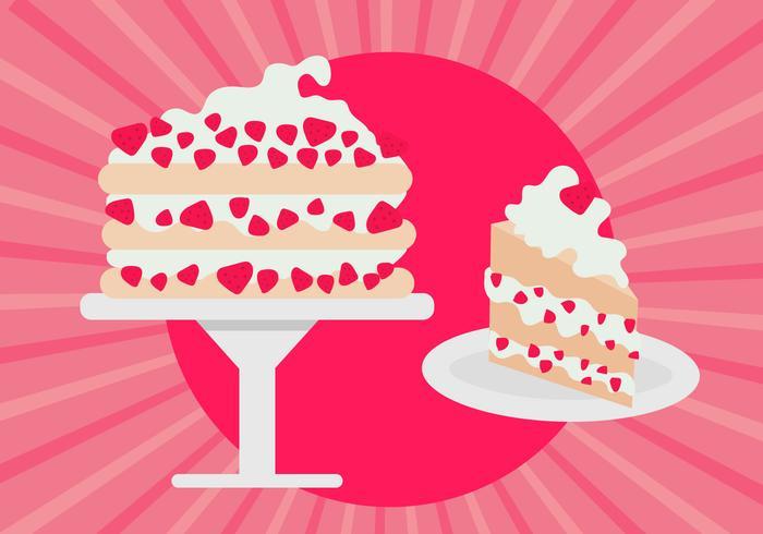 Strawberry Shortcake Free Vector