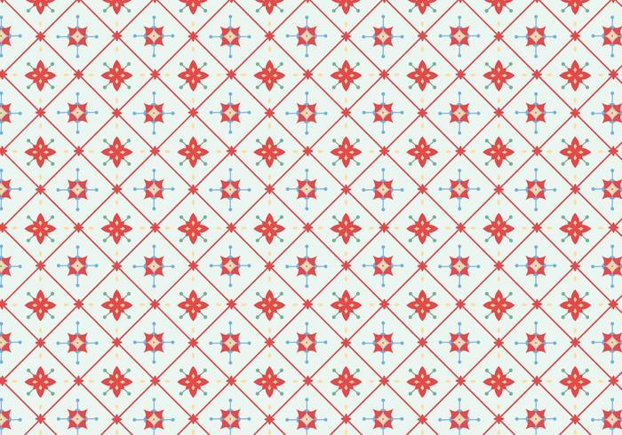 Tile Floral Pattern