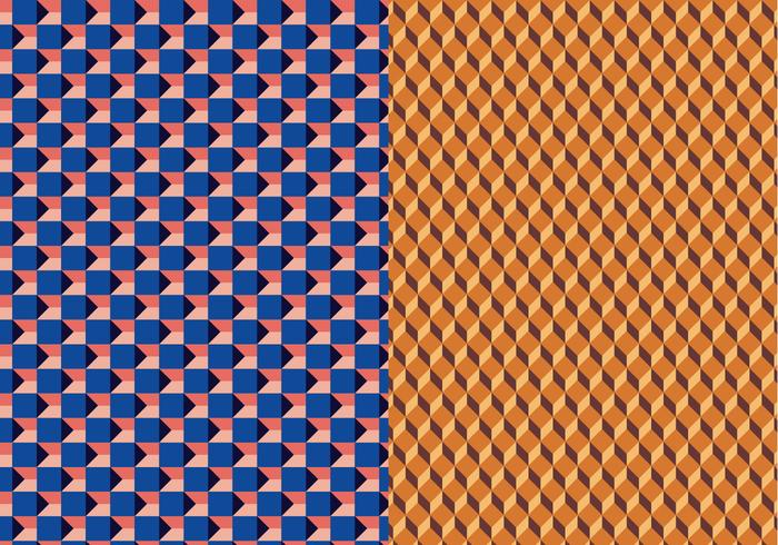 Geometric 3D Vector Pattern