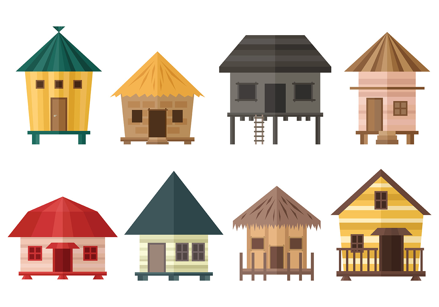 Free Shack Icon Vector Download Free Vector Art Stock