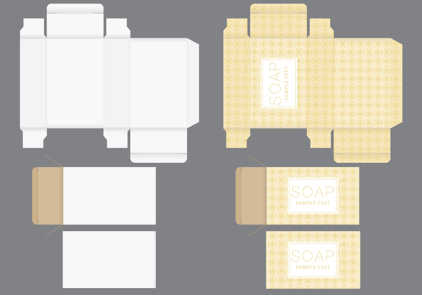 Soap box template download free vector art stock for Soap box design template