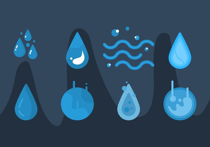Free Water Vector Graphic 2