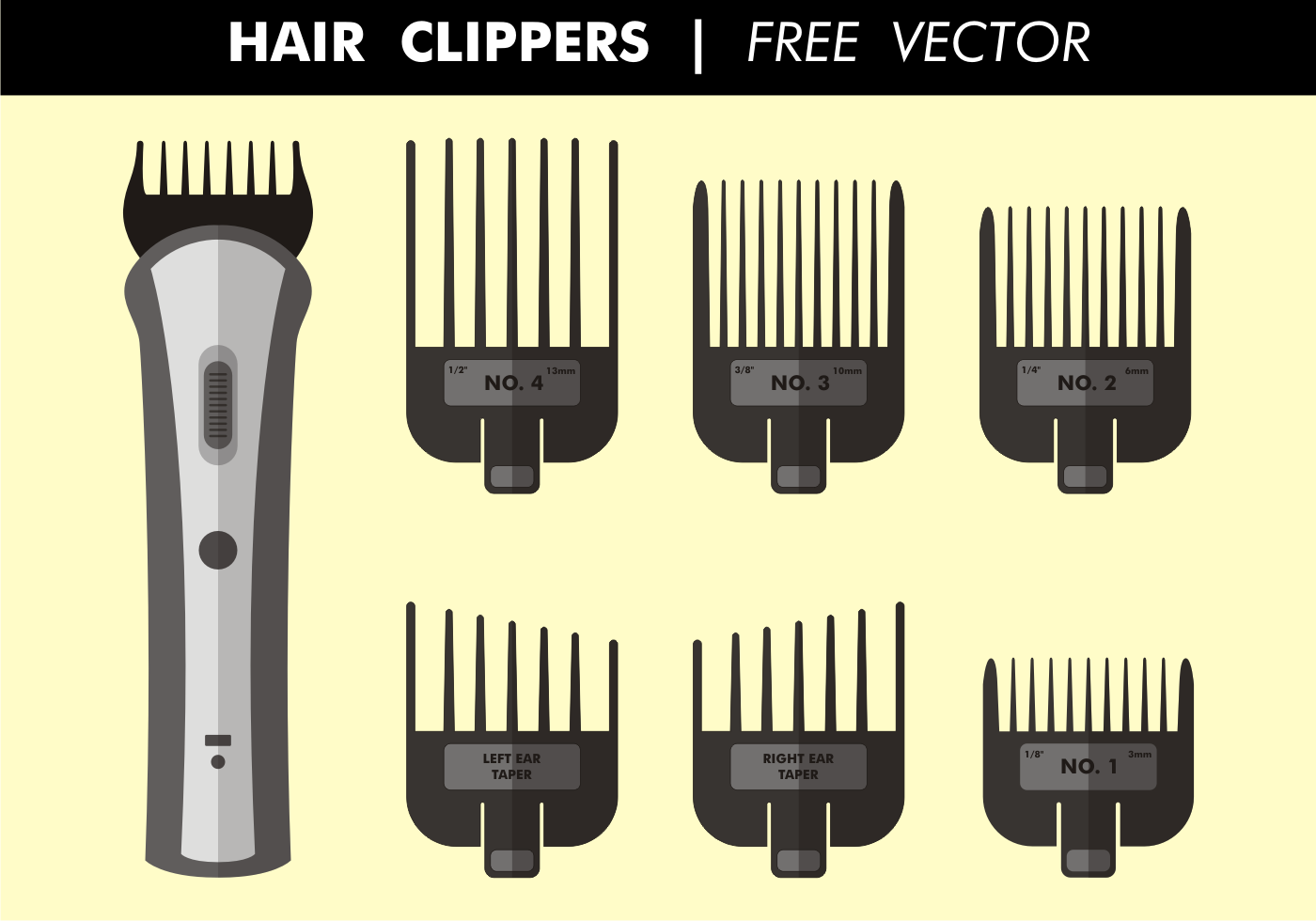 Hair Clippers Free Vector - Download Free Vector Art ...