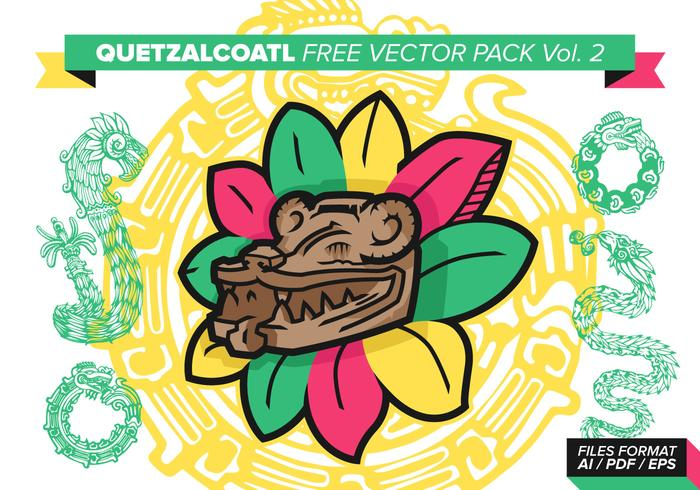 Quetzalcoatl pack vecteur gratuit vol. 2