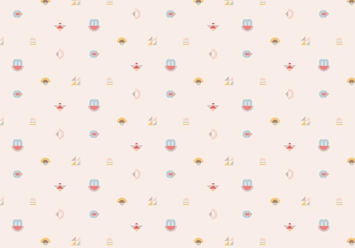Pastel Geometric Pattern Background
