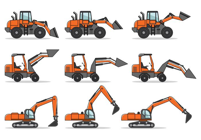 Skid steer vector