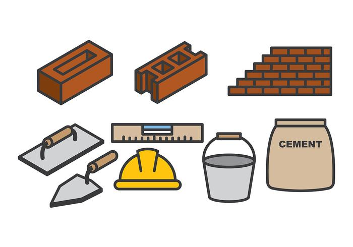 Free Bricklayer Vector