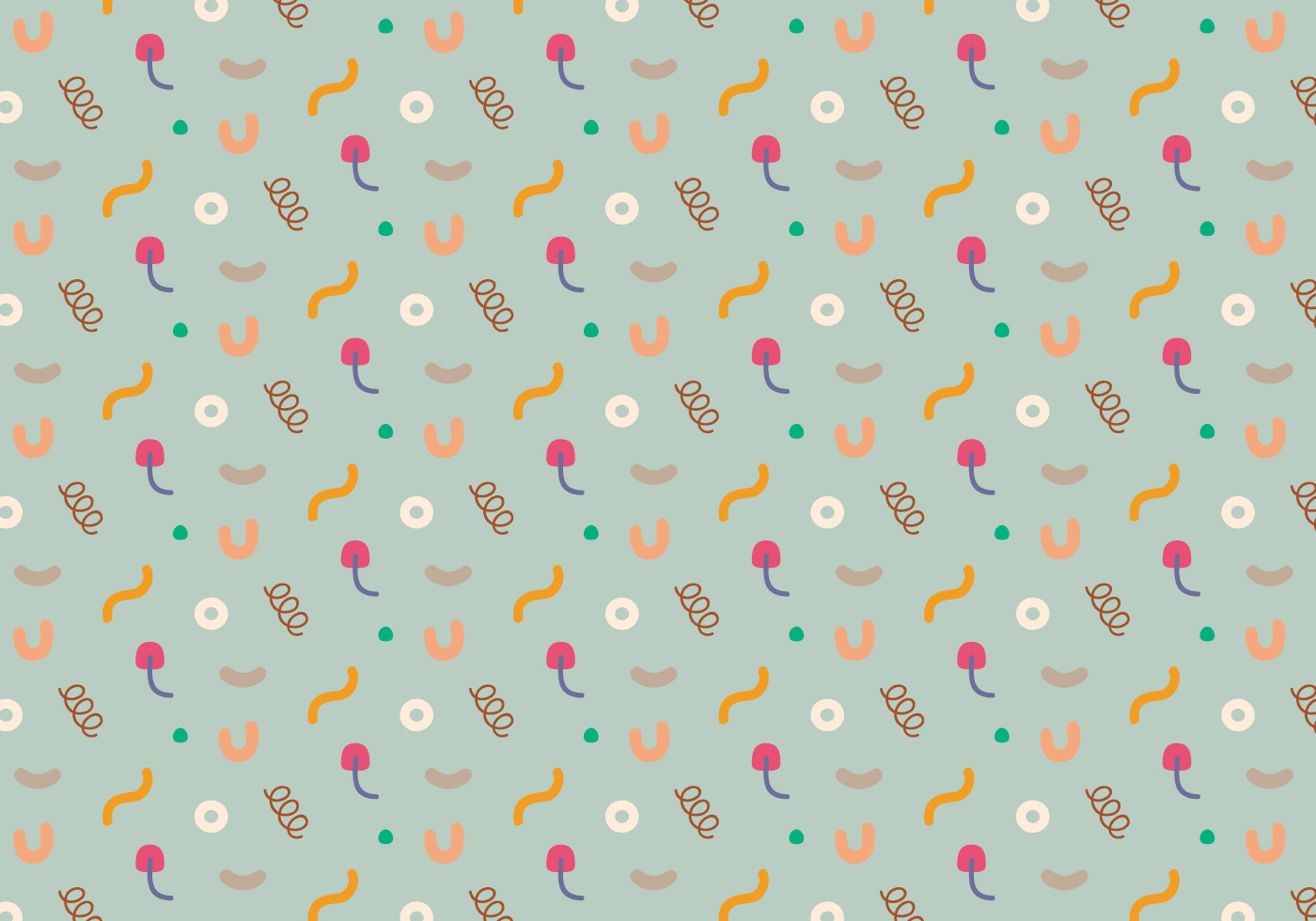 Pastel Abstract Pattern Download Free Vector Art Stock